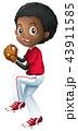 ベースボール 野球 ベクトルのイラスト 43911585
