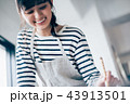 女性 趣味 習字の写真 43913501