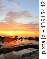 夜明け 温泉 露天風呂の写真 43915442
