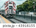 レール 鉄道 線路の写真 43916155