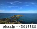 利尻島 風景 海の写真 43916388