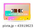 カセット テープ 音声のイラスト 43919623