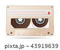 磁気の 音声 テープのイラスト 43919639