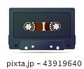 テープ 音声 カセットのイラスト 43919640