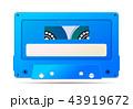 音声 ブルー 青のイラスト 43919672