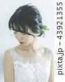 花嫁 ウェディング ウェディングドレスの写真 43921355