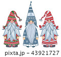 Vector   gnomes cartoons  isolated on white. 43921727