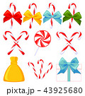 9 colorful cartoon christmas elements set 43925680