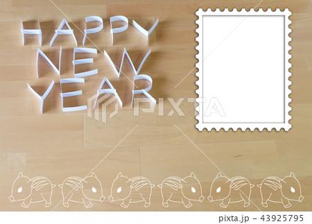 紙で作った HAPPY NEW YEAR 43925795