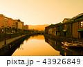 golden hour at Otaru canals 43926849