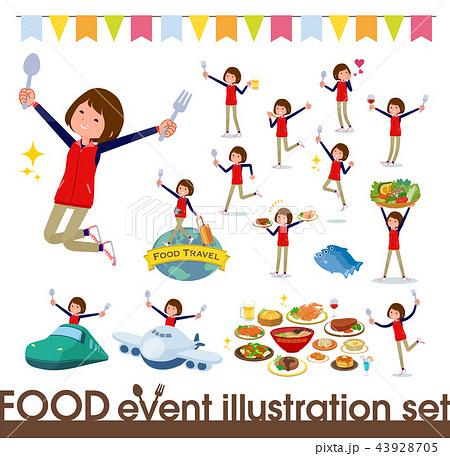 flat type Store staff women_food festival 43928705