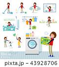 flat type Store staff women_housekeeping 43928706