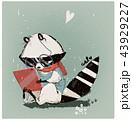 かわいい 可愛い 愛らしいのイラスト 43929227