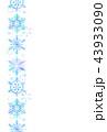 雪のポストカード 43933090