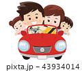 家族でドライブ 43934014
