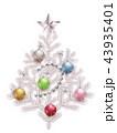 クリスマス クリスマスツリー アイコンのイラスト 43935401