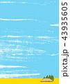 田園 田舎 水彩画 43935605