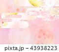 和-背景-和紙-春-桜-ピンク 43938223