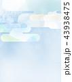 背景 和紙 和柄のイラスト 43938475