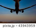 ボーイング787-8 Dreamlinerの着陸(大阪空港) 43943959