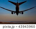 ボーイング787-8 Dreamlinerの着陸(大阪空港) 43943960