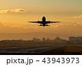 ボーイング777-200の離陸(大阪空港) 43943973