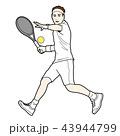 テニス 43944799