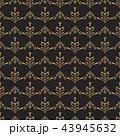 柄 パターン 模様のイラスト 43945632