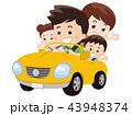 家族でドライブ 43948374