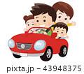家族でドライブ 43948375