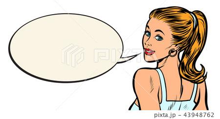 woman blonde portrait 43948762