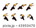 ベクトル マンガ 動物のイラスト 43950470