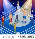 スポーツ 競技 アイソメトリックのイラスト 43951093