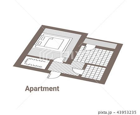 Ground floorのイラスト素材
