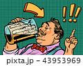 ビール ドリンク 飲み物のイラスト 43953969
