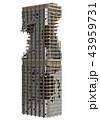高層ビル群 超高層建築 高層ビルのイラスト 43959731