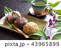 和菓子 おはぎ 桜餅の写真 43965899