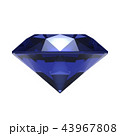 サファイア 宝石 ジュエリーのイラスト 43967808