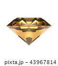 水晶 ( シトリン )の宝石, ジュエリー 43967814