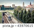 電車 列車 ポルトの写真 43970615