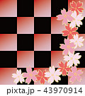 花 桜 和風のイラスト 43970914