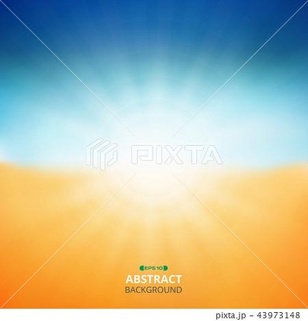 Summer background of sunshine nature beach. 43973148