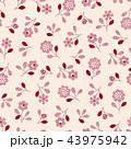 花 植物 花柄のイラスト 43975942