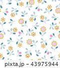 花 植物 花柄のイラスト 43975944