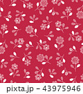 花 植物 花柄のイラスト 43975946