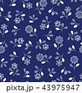 花 植物 花柄のイラスト 43975947