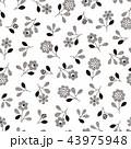 花 植物 花柄のイラスト 43975948