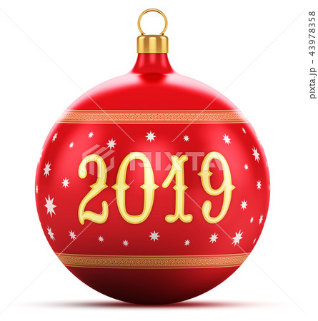 New Year 2019 holiday celebration concept 43978358