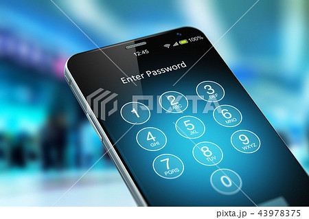 Mobile security concept 43978375