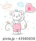 くま クマ 熊のイラスト 43980838